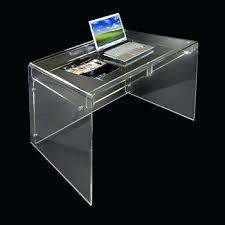 perspex furniture. Acrylic Office Desk Modern Minimalist Perspex Furniture Writing Clear