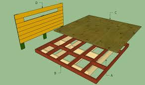diy king platform bed frame. King Size Platform Bed Frame Diy