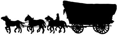 pioneer wagon clipart. horse and covered wagon clipart pioneer