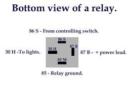 how to use wire a relay for accessory power