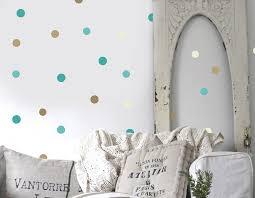 seaside polka dot wall sticker set
