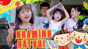 NHÀ MÌNH RẤT VUI - Bé Minh Vy | MV 4K OFFICIAL | Nhạc Thiếu Nhi Vui Nhộn  Cho Bé Vui Chơi Học Tập - YouTube