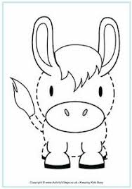 Animal Patterns To Trace Farm Animal Tracing Applique Designs Animal Templates