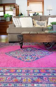 colorful rugs. Affordable Rugs In Bold Color For Neutral Home Decor Colorful N