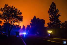 PHOTOS: Tamarack Fire continues to grow ...