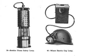 Wheat Light Battery Replacement Mining Lights And Hats Grant Wheats Story Of Underground