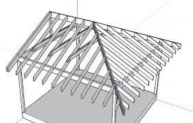 hip roof patio cover plans. How To Build A Hip Roof Over Deck. Building Patio Cover Plans R
