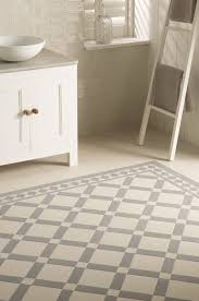 victorian tiles falkirk pattern in dover white and grey with winchester porcelain arcadian wall tiles