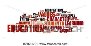 Clipart Of Education Word Cloud K21651731 Search Clip Art