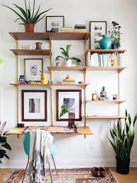 Wall Shelves With Desk Diverse Diy Suspended Shelves That Add Flavor To Your Dccor