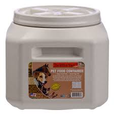 Vittles Vault Gamma2 Square Dog Food Storage Container, 30-Pound