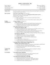 Collection Of Solutions Server Resume Objective Samples Amazing