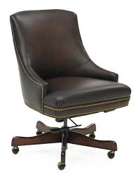 brown leather office chair. Heidi Executive Top-Grain Leather Desk Chair, Chocolate Brown Brown Leather Office Chair