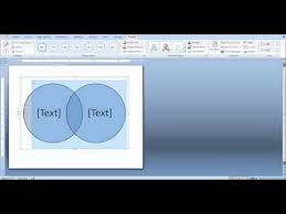 Can You Make A Venn Diagram In Word How To Create A Venn Diagram In Word And Powerpoint Youtube
