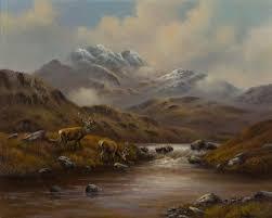 Wendy Reeves art - The Glen, Original Oil Painting