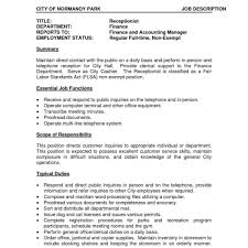 Salon Manager Resume Classy Pleasing City Manager Resume Template Related To Vibrant Design