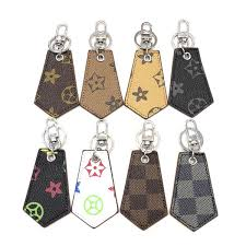 Keychain Leather Tag Cell Phone Straps Charms Accessories <b>Eight</b> ...
