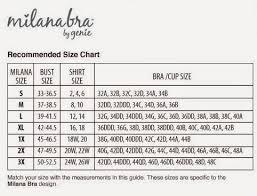 Milana Bra Size Chart 2014 S A J A K Ss Favorites