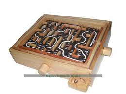 Wooden Maze Game With Ball Bearing Impressive Buy Labyrinth Game Wooden Puzzle Maze Game