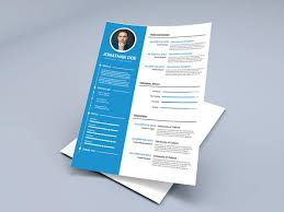 Free Ms Word Resume And Cv Template Collateral Design Pinterest