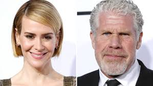 sites sarah paulson and ron perlman s top tips learned in the makeup chair