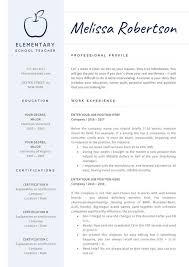 Teacher Resume Template For Word Teaching Resume Cv Teacher Elementary Resume Cv For Teachers Preschool Teacher Art Or Esl