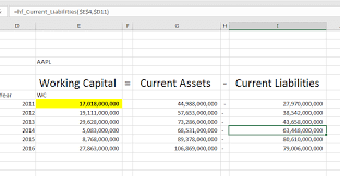 Net Working Capital Formula Change In Working Capital How To Interpret And Calculate In Excel