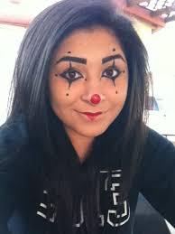 clown makeup for hollween cute