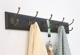 Coat Rack Organizer SW Entryway Coat Rack Organizer Wall Mount Shelf Hat Bag Key Hanger 92