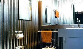 galvanized sheet metal shower showers corrugated walls panels for bathroom