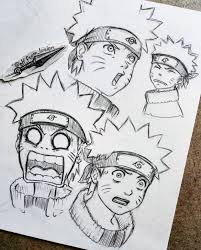 naruto 🍥| By: @elf_from_lorien Visit Our Website for more #anime and  #animeart! 😆 ⚫ #narutoshipudden Don'… | Naruto sketch, Naruto sketch  drawing, Anime naruto