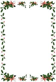 christmas menu borders free christmas borders