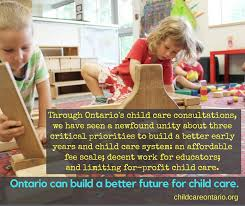Three Ideas To Build A Better Future For Child Care The Ontario