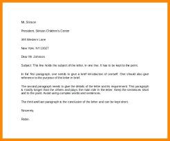 Pattern Of Reference Letter Formal Letter Pattern Scsllc Co