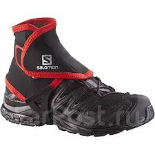 <b>Гамаши Salomon</b> fw <b>Trail Gaiters</b> High Blk - Одежда, обувь и ...