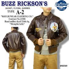 buzz rickson s rickson flight jacket type a 2 rough wear clothing co