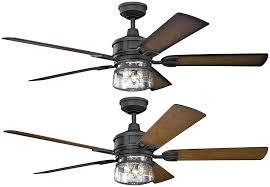 kichler ceiling fan patio distressed black walnut walnut shadowed ceiling fan loading zoom kichler lighting casual