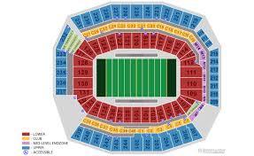 Philadelphia Eagles Seating Chart Philadelphia Eagles Home Schedule 2019 Seating Chart