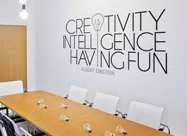 creative office wall art. Office Wall Decals On Pinterest Art, Creative Space Art