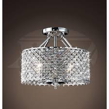 flush mount crystal ceiling lights light old mobile pertaining brilliant house designs newest
