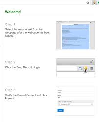 Amazing Resume Extractor Zoho Photos Documentation Template