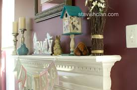 Four Seasons Of Mantel Decorating Ideas Spring Time. Apartments Design.  Small Apartment Designs.
