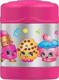 Shopkins Cupcake Chic Thermos Funtainer Stainless Steel Insulated