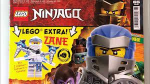 Lego Ninjago Magazine Nr 65 auspacken - YouTube