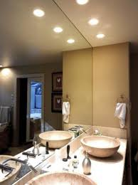bathroom lights recessed recessed lights in bathroom regarding classy recessed lighting