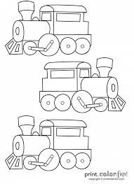 This coloring book for any age contains lots of trains pictures, huge realistic locomotives, electric trains game coloring book has tens of train coloring pages for all, especially for guys. Car Truck Plane Train Coloring Pages Printables Print Color Fun Free Printables Coloring Pages Crafts Puzzles Cards To Print