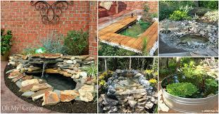 Garden Ponds Designs Extraordinary 48 Budget Friendly DIY Garden Ponds You Can Make This Weekend DIY