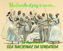 Resultado de imagem para dia nacional da umbanda
