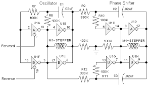 the 74ac240 stepper driver works by alternately enabling each half of the buffer only one half can be enabled at a time