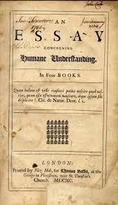 John Locke An Essay Concerning Human Understanding 1690 Custom